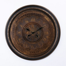 Antiqued Bronze Wall Clock at Kirkland's