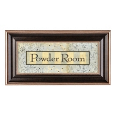 Powder Room Framed Print at Kirkland's