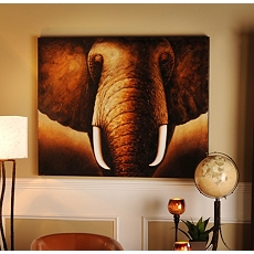 Tusks Canvas Painting at Kirkland's