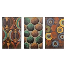 Cycles Canvas Art Print, Set of 3 at Kirkland's