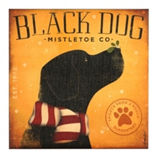 Black Dog Canvas Print at Kirkland's