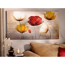 Poppy Profusion Canvas Painting at Kirkland's