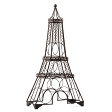 Eiffel Tower Wine Rack at Kirkland's