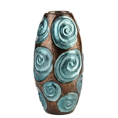Turquoise Bloom Vase at Kirkland's