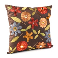 Chocolate Milena Pillow at Kirkland's