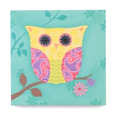 Mr Owl Canvas Print at Kirkland's
