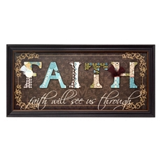 Faith Scrapbook Shadowbox at Kirkland's