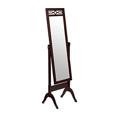 Mahogany Cheval Floor Mirror at Kirkland's