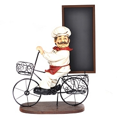 Chef Chalkboard Statue at Kirkland's