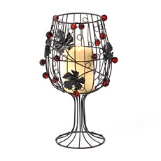 Wine Metal Candle Holder at Kirkland's