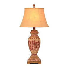 Rustic Red Table Lamp at Kirkland's