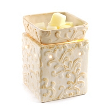 Ceramic Cream Tuscan Wax Warmer at Kirkland's