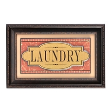 Laundry Framed Print at Kirkland's