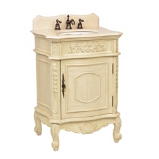 Ivory Sinclair Vanity Sink, 26in. at Kirkland's