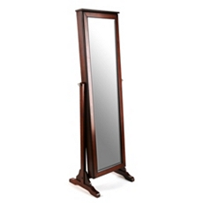 Cherry Jewelry Mirror Armoire at Kirkland's