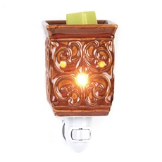 Ceramic Scrolled Tart Burner Night Light at Kirkland's