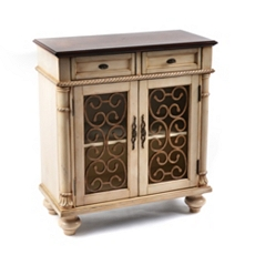 Ivory Wood Brixworth Cabinet at Kirkland's