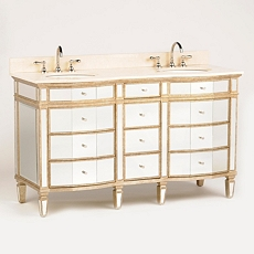 Mirrored Winston Double Vanity Sink, 60 in. at Kirkland's