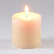 Warm Vanilla Pillar Candle at Kirkland's