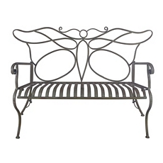 Metal Butterfly Bench at Kirkland's