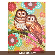 Owl Duo Canvas Art Print at Kirkland's