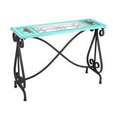 Blue Veracruz Console Table at Kirkland's