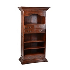Wood Mahogany CEO Wine Cabinet at Kirkland's