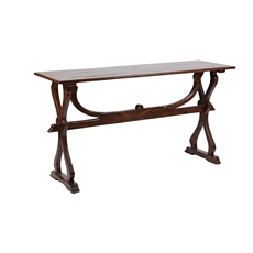 Wood Wishbone Console Table at Kirkland's