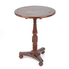 Mahogany Pedestal Table at Kirkland's