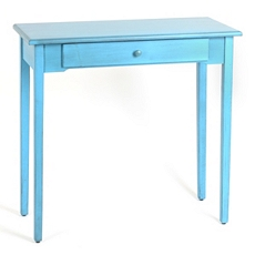 Distressed Blue Console Table at Kirkland's