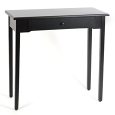 Distressed Black Console Table at Kirkland's