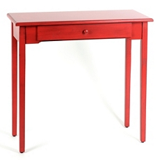 Distressed Red Console Table at Kirkland's