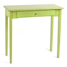 Distressed Green Console Table at Kirkland's
