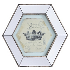 Vintage Crown II Mirror Framed Art Print at Kirkland's