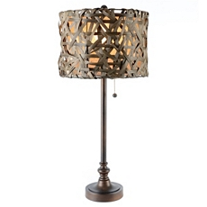 Rattan Buffet Lamp at Kirkland's