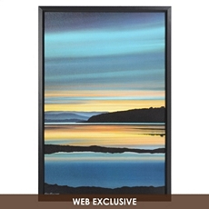 Golden Evening Framed Art Print at Kirkland's