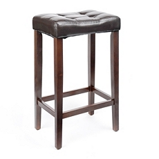 Saddle Brown Bar Stool at Kirkland's