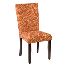 Red Cheetah Parsons Chair at Kirkland's