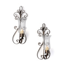 Metal Portabela Sconce, Set of 2 at Kirkland's