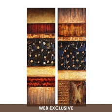 Abstract Rock Canvas Painting, Set of 2 at Kirkland's