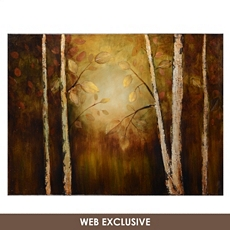 Golden Leaves Canvas Art Print at Kirkland's