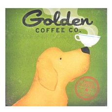 Golden Coffee Canvas Art Print at Kirkland's