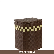 Espresso Paper Rope Hamper at Kirkland's