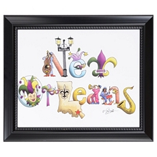 New Orleans Framed Art Print at Kirkland's