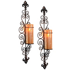 Amber Dellacorte Sconce, Set of 2 at Kirkland's