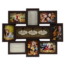 Faith, Hope, Love Collage Frame at Kirkland's
