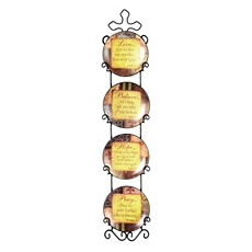 Sentiment Plate, Set of 4 at Kirkland's