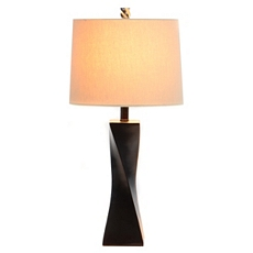 Espresso Twist Table Lamp at Kirkland's