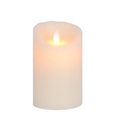 Ivory LED Flameless Candle, 5 in. at Kirkland's