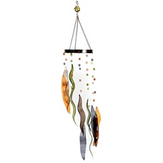 Multi-Color Glass Wind Chime at Kirkland's